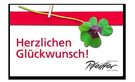 """Givecard """"Herzlichen Glueckwunsch!"""""""