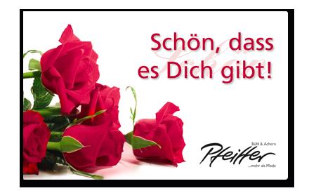 """Givecard """"Schön, dass es Dich gibt!"""""""