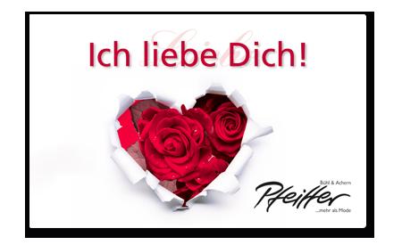 "Givecard ""Ich liebe dich!"""